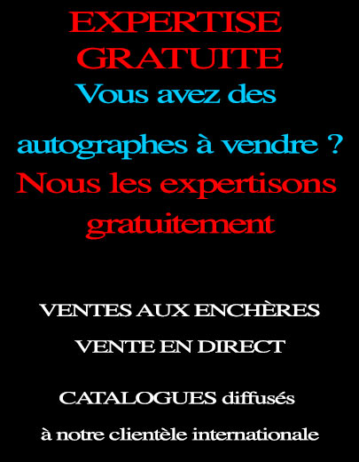 estimation d'autographes